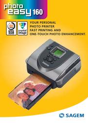 Sagem Photo easy 160 PE160 User Manual
