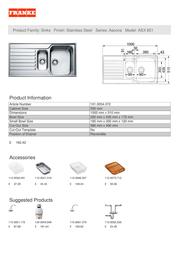 Franke ASX 651 ASX651 Leaflet