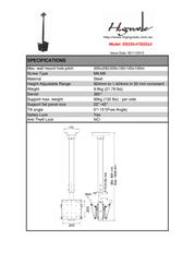 Highgrade D9250 + F2020 HG-D9250 Leaflet