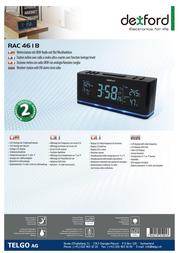 Dexford RAC4618 RAC4618 BLACK Leaflet