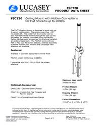 Lucasey FSCT20 Product Datasheet