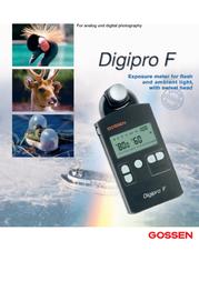 Gossen Digipro F H256A Leaflet