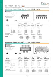 Preisner SAV 525 N SAV525N User Manual