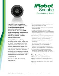 iRobot Scooba 230 820012 Leaflet
