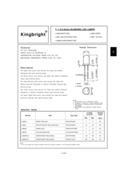 Kingbright Electronic L-56BHD Manuale Utente