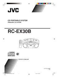 JVC RC-EX30 User Manual