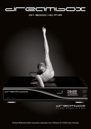 Dreambox DM 8000 HD PVR DM8000 Leaflet