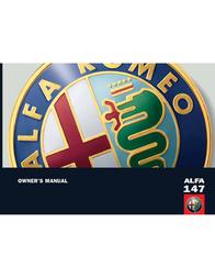 Alfa Romeo 147 Owner's Manual