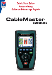 Psiber Data PD_CM850 Cable tester, cable tester 226521 User Manual