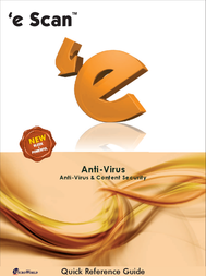 eScan Anti-Virus, 3u, 1Y, Box ESAV3BOX1 User Manual
