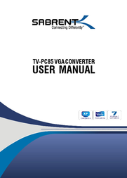 Sabrent TV-PC85 User Manual