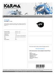 Karma Italiana 1.5m HDMI 1.4 M/M CV 8125 Leaflet