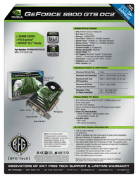 BFG Tech 8800 GTS OC2 320MB 151204 Leaflet
