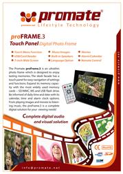 Promate ProFrame.3 PROFRAME3 Leaflet
