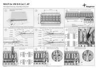 Telegaertner Telegärtner connection box 6 ports CAT 7 J00060A0071 Leaflet