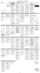 Acoustic Research ARS3I Leaflet