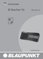 Blaupunkt BT Drive Free 112 1021104112001 Data Sheet