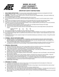 ATEC BC-91407 User Manual