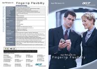 """Acer PDA N10 300MHz 64MB 32MB Flash 3.5""""TFT CP.N100H.007 Dépliant"""
