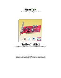 FirmTek 2-por external Manuel D'Utilisation