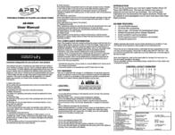 Apex ab 088k User Guide