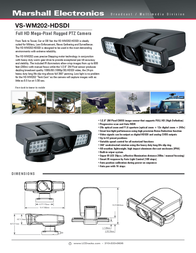 Marshall Electronics VS-WM202-HDSI Leaflet