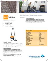 Taski Baby Bora 7511185 Leaflet