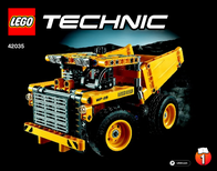 Lego Technic LEGO® TECHNIC 42035 MULDENKIPPER 42035 User Manual