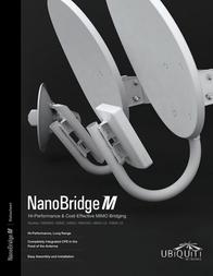 Ubiquiti Networks NanoBridge M2 NB-2G18 Data Sheet
