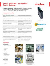Molex DRL-EPS-SRM Protocol Gateway Specification Guide