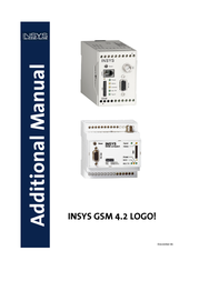 Insys GSM 4.2 LOGO! compact KIT 11-02-01-03-04.004 User Manual