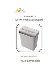 Royal Sovereign RDS-901X User Manual