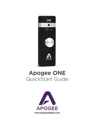 Apogee ONE for iPad® & Mac Owner's Manual
