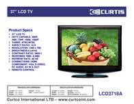 Curtis LCD3718A Leaflet