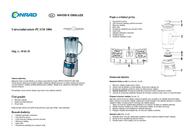 ProfiCook PC-UM 1006 501006 Data Sheet