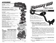 Bounty Hunter DISCOVERY 1100 User Manual