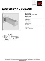 KWC QBIX/QBIX-ART 26.259.072.000 Leaflet
