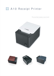 Synkro A10 Thermal Printer A10 PRINTER RED Leaflet