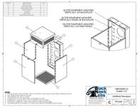 Black Hawk Labs 12U + 4U MiniRaQ Secure MRQ301S16 Leaflet