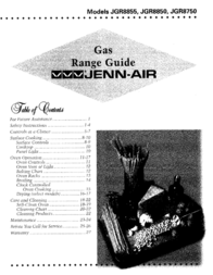 Jenn-Air JGR8750 User Manual