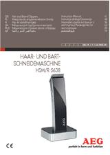 AEG HSM/R 5638 520643 Benutzerhandbuch