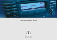 Mercedes Benz Car Amplifier Audio 50 User Manual