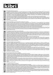 Kibri 38995 Data Sheet