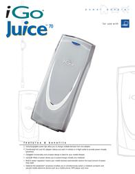 Mobility Electronics iGo Juice70 Leaflet