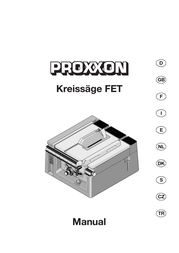 Proxxon Micromot FET Table Saw 27 070 Data Sheet