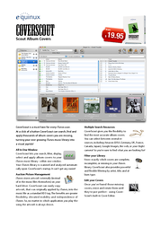 Equinux CoverScout 2.x - Personal Pack Pro EQ11041-INT Leaflet