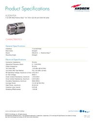 Andrew AL5DM-PSA User Manual