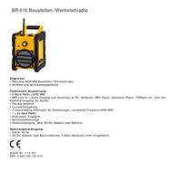 Clatronic BR 816 114 051 Leaflet