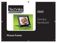 Technika PICTURE FRAME X800 User Manual