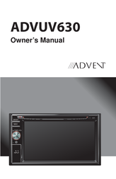 Advent ADVUV630 User Manual